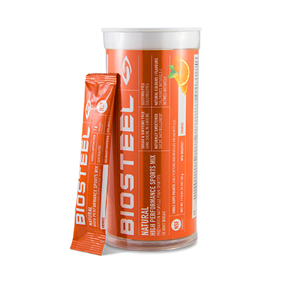 BioSteel High Performance Sports Mix Tubes 12 x 7гр. апельсин