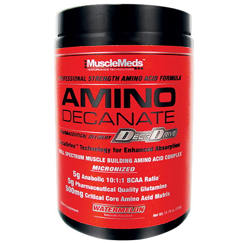 MuscleMeds Amino Decanate 360 гр. цитрус-лайм